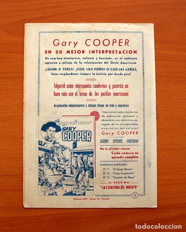Tebeos: Gary Cooper - Colección Completa 14 cuadernos - Editorial JOVI 1950 - Foto 7 - 99071575