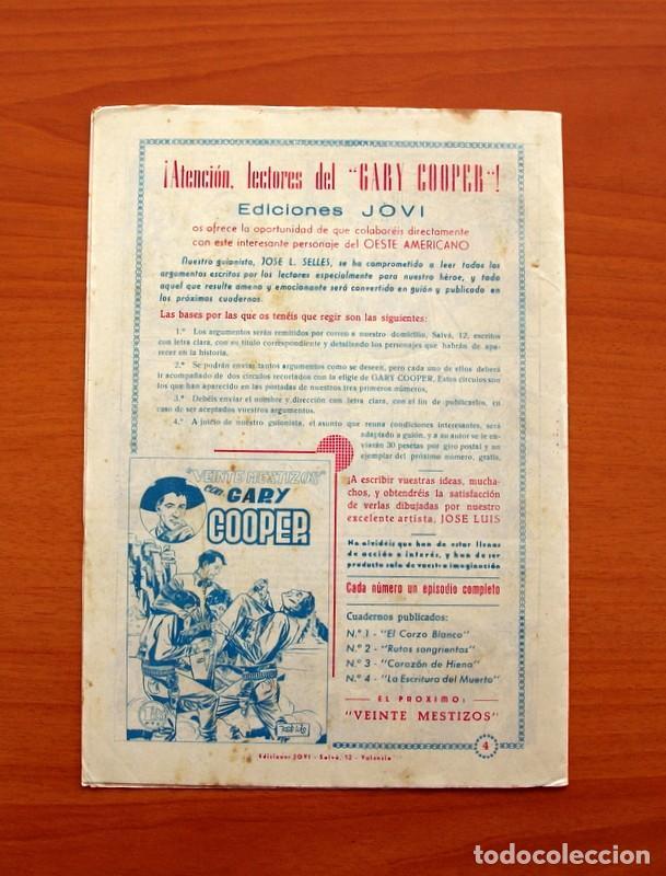 Tebeos: Gary Cooper - Colección Completa 14 cuadernos - Editorial JOVI 1950 - Foto 9 - 99071575