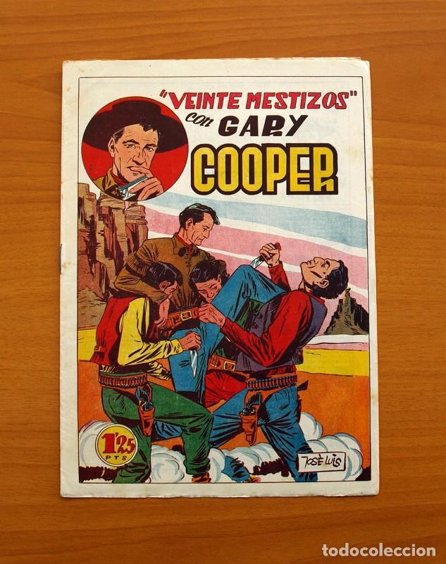 Tebeos: Gary Cooper - Colección Completa 14 cuadernos - Editorial JOVI 1950 - Foto 10 - 99071575