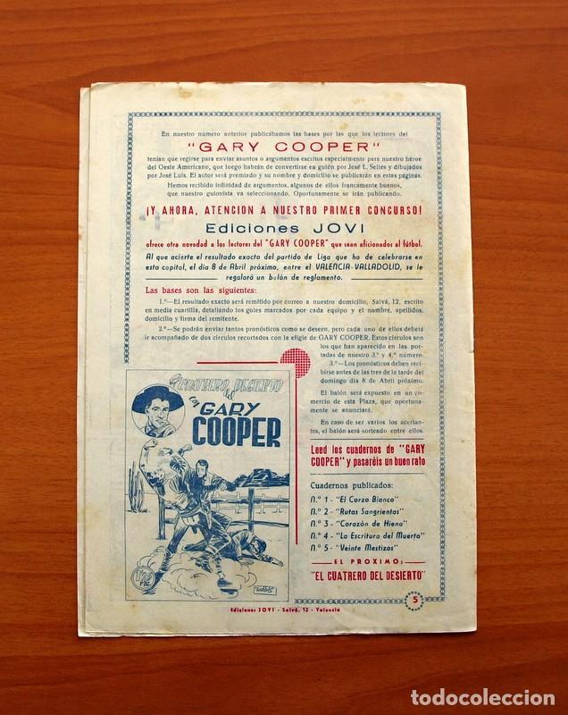 Tebeos: Gary Cooper - Colección Completa 14 cuadernos - Editorial JOVI 1950 - Foto 11 - 99071575