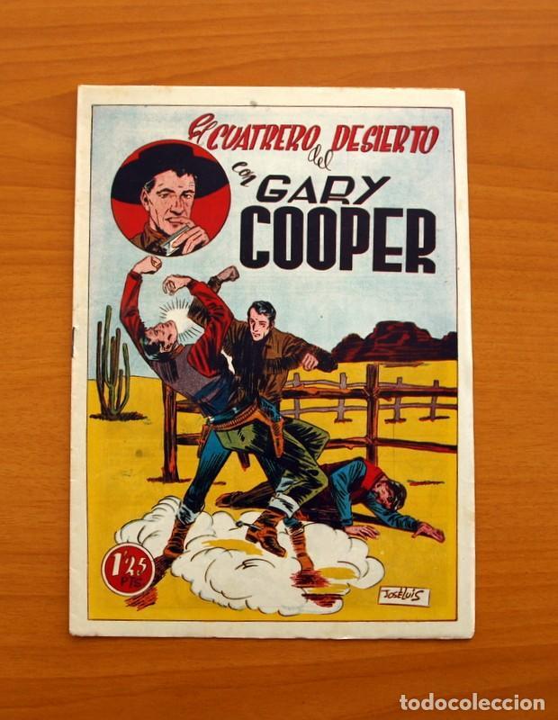 Tebeos: Gary Cooper - Colección Completa 14 cuadernos - Editorial JOVI 1950 - Foto 12 - 99071575