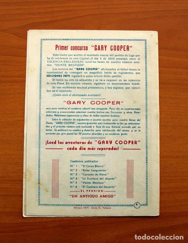 Tebeos: Gary Cooper - Colección Completa 14 cuadernos - Editorial JOVI 1950 - Foto 13 - 99071575