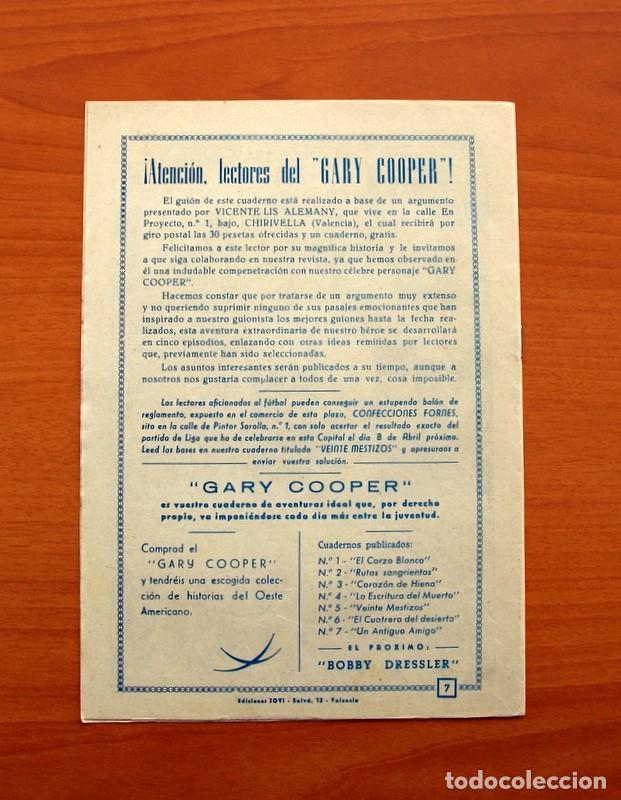 Tebeos: Gary Cooper - Colección Completa 14 cuadernos - Editorial JOVI 1950 - Foto 15 - 99071575