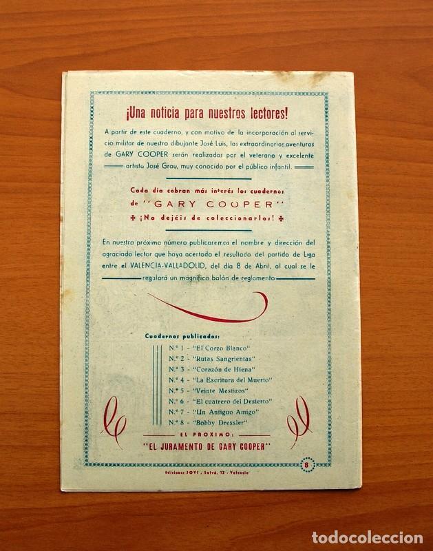 Tebeos: Gary Cooper - Colección Completa 14 cuadernos - Editorial JOVI 1950 - Foto 17 - 99071575