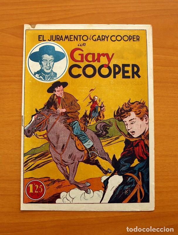Tebeos: Gary Cooper - Colección Completa 14 cuadernos - Editorial JOVI 1950 - Foto 18 - 99071575