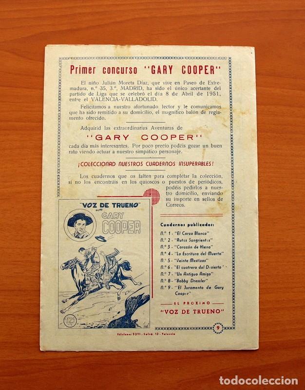 Tebeos: Gary Cooper - Colección Completa 14 cuadernos - Editorial JOVI 1950 - Foto 19 - 99071575