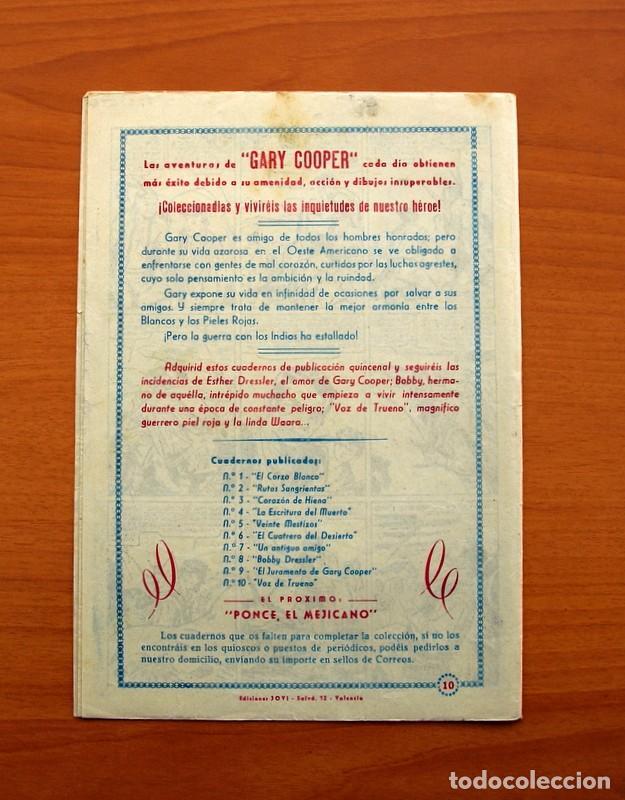 Tebeos: Gary Cooper - Colección Completa 14 cuadernos - Editorial JOVI 1950 - Foto 21 - 99071575