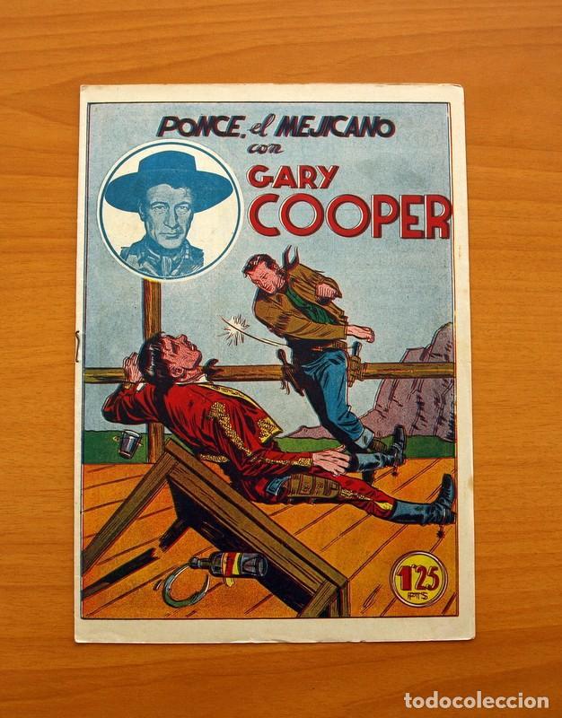 Tebeos: Gary Cooper - Colección Completa 14 cuadernos - Editorial JOVI 1950 - Foto 22 - 99071575