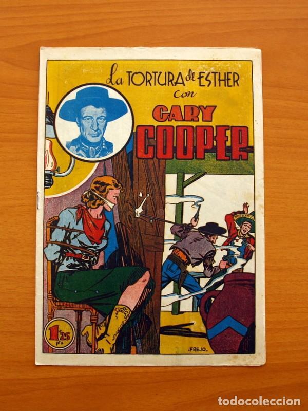 Tebeos: Gary Cooper - Colección Completa 14 cuadernos - Editorial JOVI 1950 - Foto 24 - 99071575