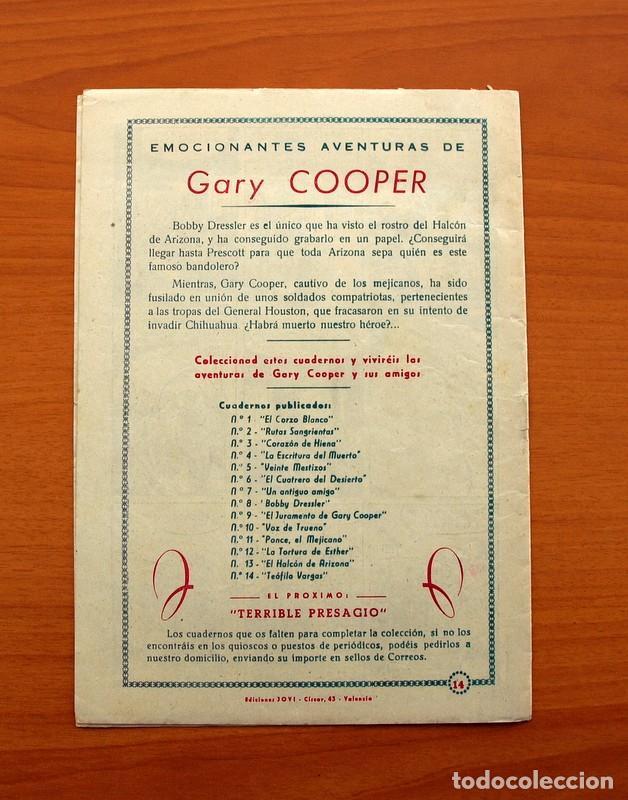 Tebeos: Gary Cooper - Colección Completa 14 cuadernos - Editorial JOVI 1950 - Foto 29 - 99071575