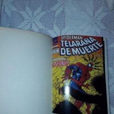 Tebeos: SPIDERMAN TELARAÑA DE MUERTE, SPIDERMAN FACTOR X, SPIDERMAN PROYECTO ARACHNIS (COLECCIONES COMPLETA). Lote 99092595