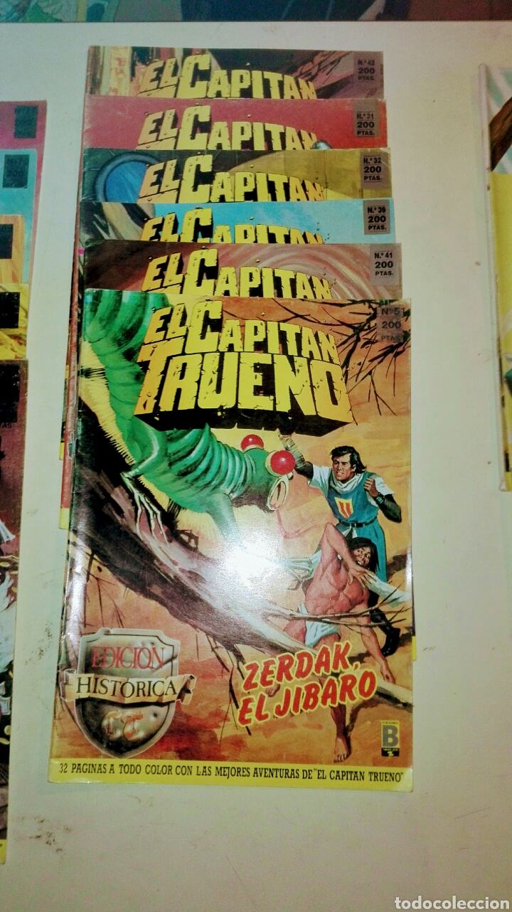 Tebeos: Colección Histórica,Capitán Trueno /13 Numeros - Foto 2 - 99229323