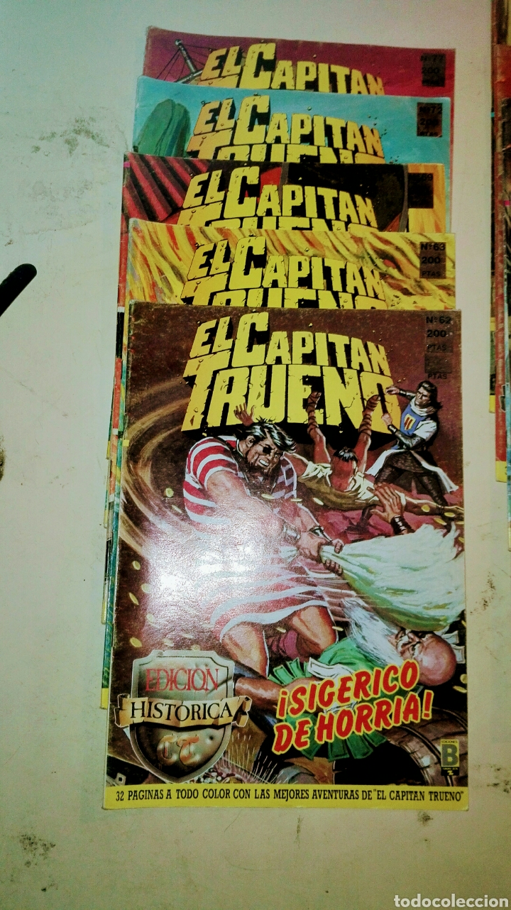 Tebeos: Colección Histórica,Capitán Trueno /13 Numeros - Foto 4 - 99229323