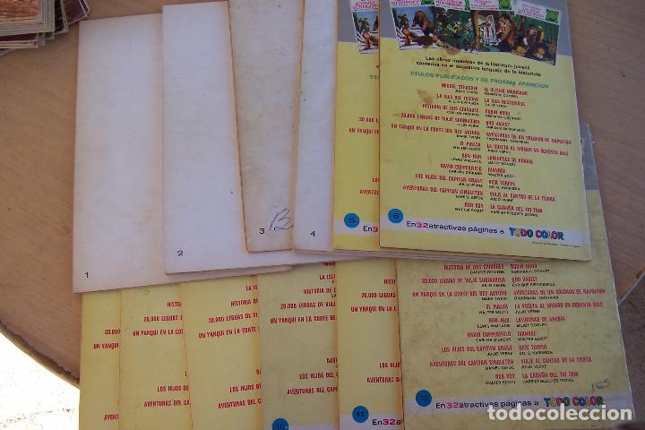 Tebeos: BRUGUERA,- JOYAS LITERARIAS JUVENILES LOTE DE 269 Nº COMPLETA y algo mas - Foto 2 - 136662584