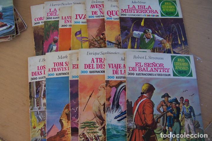 Tebeos: BRUGUERA,- JOYAS LITERARIAS JUVENILES LOTE DE 269 Nº COMPLETA y algo mas - Foto 4 - 136662584