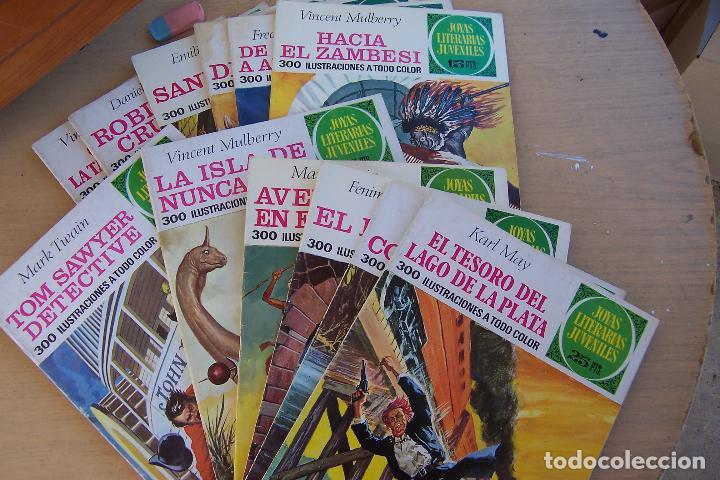 Tebeos: BRUGUERA,- JOYAS LITERARIAS JUVENILES LOTE DE 269 Nº COMPLETA y algo mas - Foto 7 - 136662584