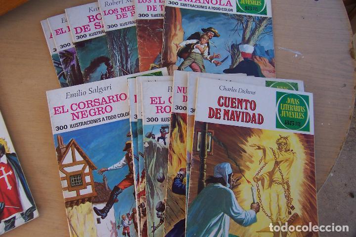 Tebeos: BRUGUERA,- JOYAS LITERARIAS JUVENILES LOTE DE 269 Nº COMPLETA y algo mas - Foto 10 - 136662584