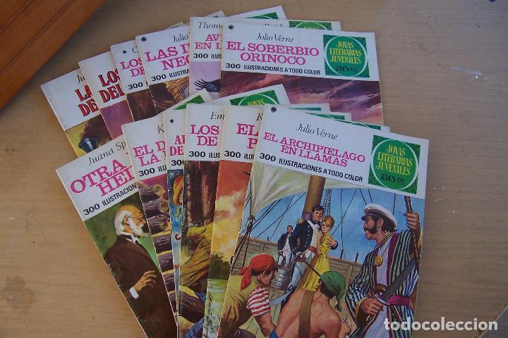 Tebeos: BRUGUERA,- JOYAS LITERARIAS JUVENILES LOTE DE 269 Nº COMPLETA y algo mas - Foto 12 - 136662584