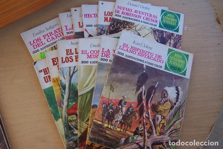 Tebeos: BRUGUERA,- JOYAS LITERARIAS JUVENILES LOTE DE 269 Nº COMPLETA y algo mas - Foto 15 - 136662584