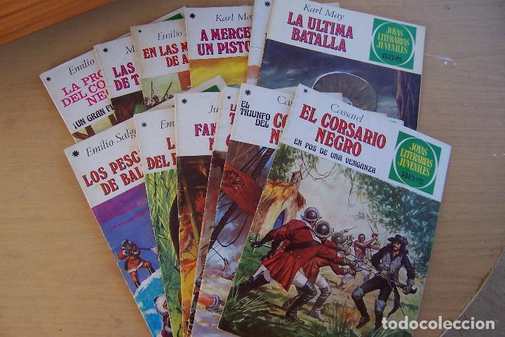 Tebeos: BRUGUERA,- JOYAS LITERARIAS JUVENILES LOTE DE 269 Nº COMPLETA y algo mas - Foto 16 - 136662584