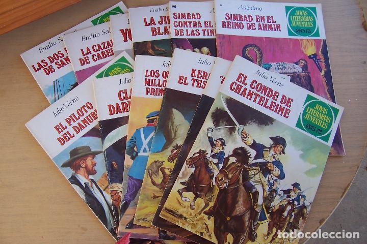 Tebeos: BRUGUERA,- JOYAS LITERARIAS JUVENILES LOTE DE 269 Nº COMPLETA y algo mas - Foto 18 - 136662584