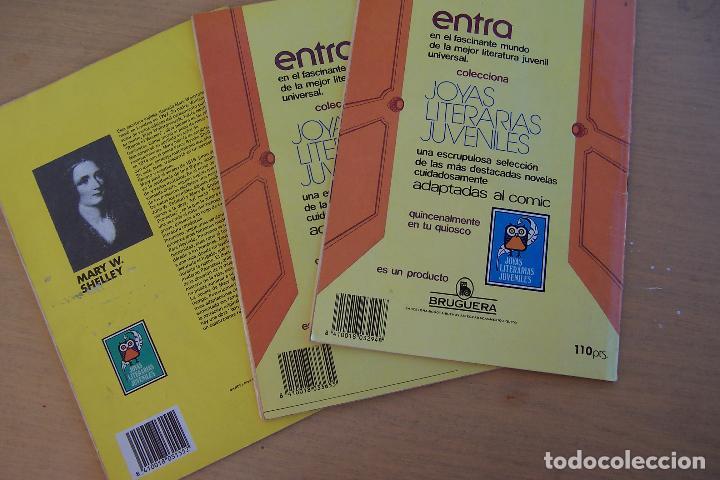 Tebeos: BRUGUERA,- JOYAS LITERARIAS JUVENILES LOTE DE 269 Nº COMPLETA y algo mas - Foto 24 - 136662584