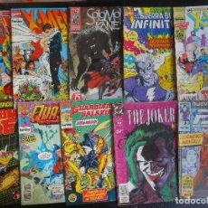 Tebeos: LOTE DE 10 COMICS VARIADOS DE SUPERHEROES, VER FOTOS. Lote 99919623