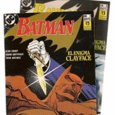Tebeos: BATMAN. EL ENIGMA CLAYFACE. 2 NÚMEROS ¡¡COLECCIÓN COMPLETA!!. ZINCO/DC. (RF.MA)CF4.. Lote 100749467