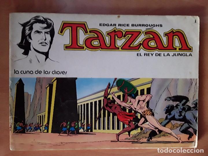 Tebeos: TARZAN - EDGAR RICE BARROUGHS - COLECCION COMPLETA - EDITORIAL NOVARO - Foto 2 - 102562215