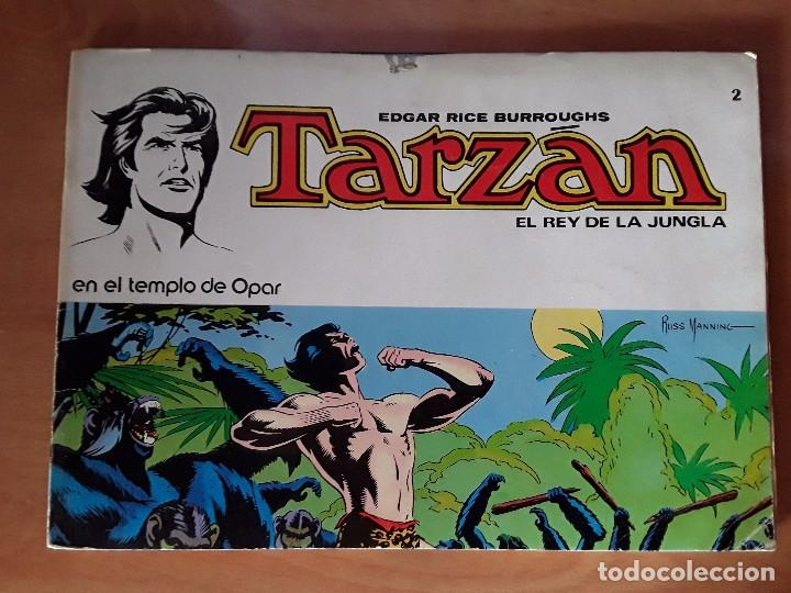 Tebeos: TARZAN - EDGAR RICE BARROUGHS - COLECCION COMPLETA - EDITORIAL NOVARO - Foto 4 - 102562215