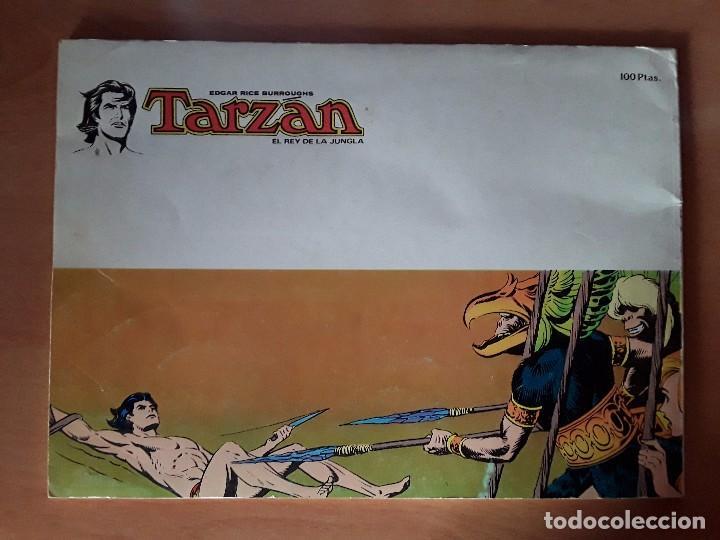 Tebeos: TARZAN - EDGAR RICE BARROUGHS - COLECCION COMPLETA - EDITORIAL NOVARO - Foto 13 - 102562215