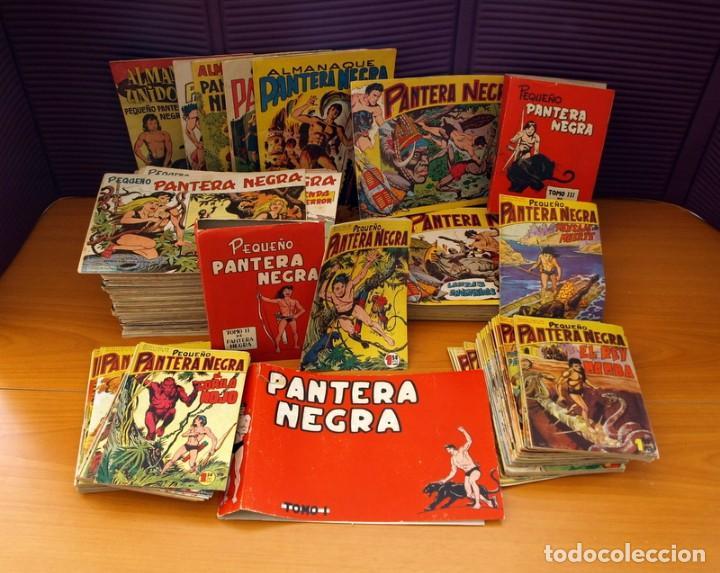 Tebeos: Pantera Negra, Pequeño Pantera Negra, y Almanaques - Ver fotos interiores - Editorial Maga 1956 - Foto 2 - 102711199