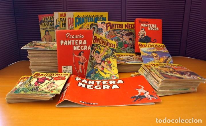 Tebeos: Pantera Negra, Pequeño Pantera Negra, y Almanaques - Ver fotos interiores - Editorial Maga 1956 - Foto 3 - 102711199