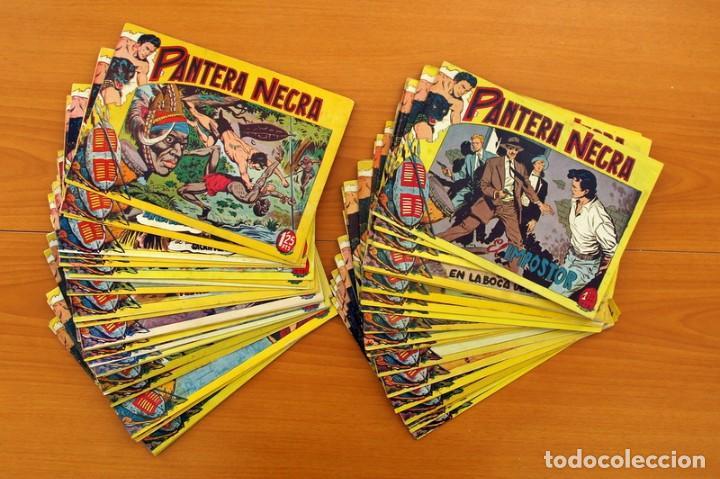 Tebeos: Pantera Negra, Pequeño Pantera Negra, y Almanaques - Ver fotos interiores - Editorial Maga 1956 - Foto 4 - 102711199