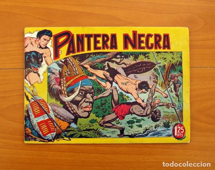 Tebeos: Pantera Negra, Pequeño Pantera Negra, y Almanaques - Ver fotos interiores - Editorial Maga 1956 - Foto 5 - 102711199