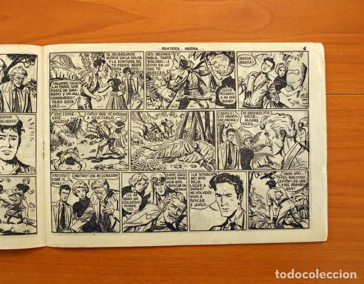 Tebeos: Pantera Negra, Pequeño Pantera Negra, y Almanaques - Ver fotos interiores - Editorial Maga 1956 - Foto 7 - 102711199
