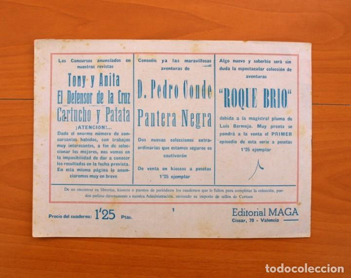 Tebeos: Pantera Negra, Pequeño Pantera Negra, y Almanaques - Ver fotos interiores - Editorial Maga 1956 - Foto 9 - 102711199