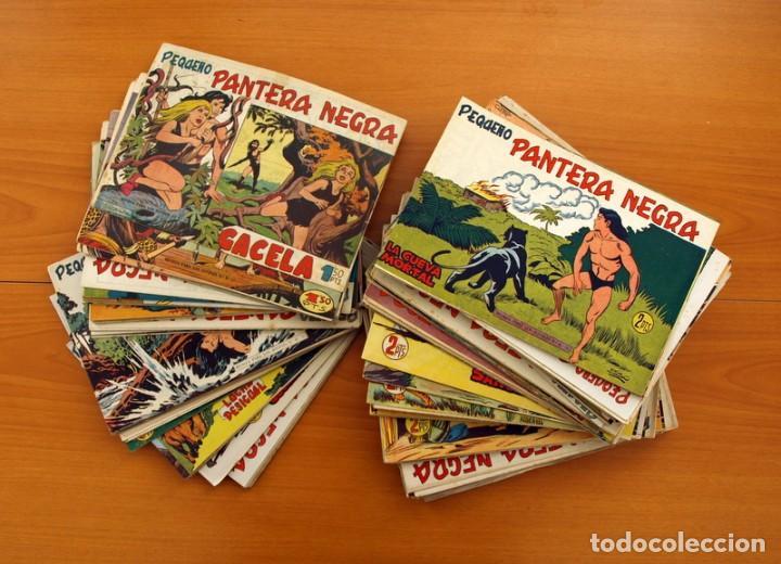 Tebeos: Pantera Negra, Pequeño Pantera Negra, y Almanaques - Ver fotos interiores - Editorial Maga 1956 - Foto 10 - 102711199