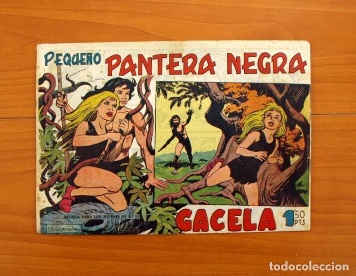 Tebeos: Pantera Negra, Pequeño Pantera Negra, y Almanaques - Ver fotos interiores - Editorial Maga 1956 - Foto 11 - 102711199