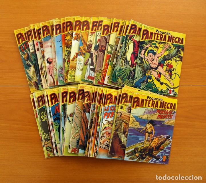Tebeos: Pantera Negra, Pequeño Pantera Negra, y Almanaques - Ver fotos interiores - Editorial Maga 1956 - Foto 15 - 102711199
