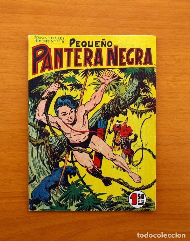 Tebeos: Pantera Negra, Pequeño Pantera Negra, y Almanaques - Ver fotos interiores - Editorial Maga 1956 - Foto 16 - 102711199