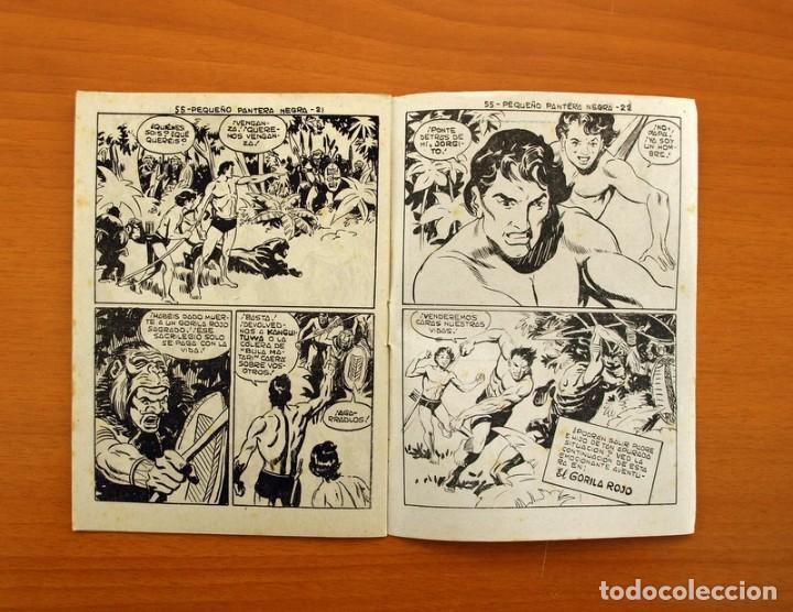 Tebeos: Pantera Negra, Pequeño Pantera Negra, y Almanaques - Ver fotos interiores - Editorial Maga 1956 - Foto 19 - 102711199