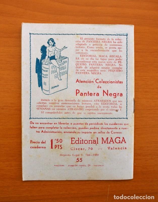 Tebeos: Pantera Negra, Pequeño Pantera Negra, y Almanaques - Ver fotos interiores - Editorial Maga 1956 - Foto 20 - 102711199