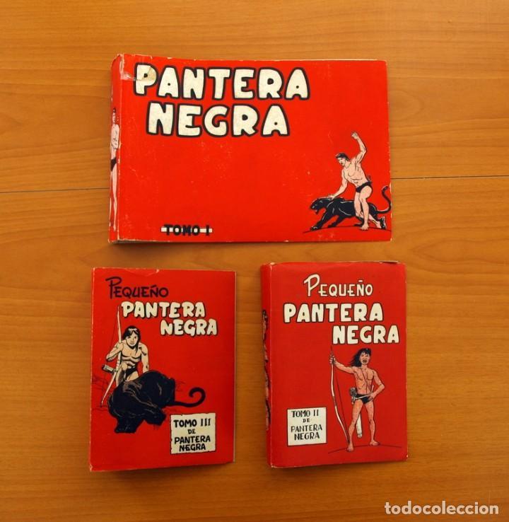 Tebeos: Pantera Negra, Pequeño Pantera Negra, y Almanaques - Ver fotos interiores - Editorial Maga 1956 - Foto 21 - 102711199