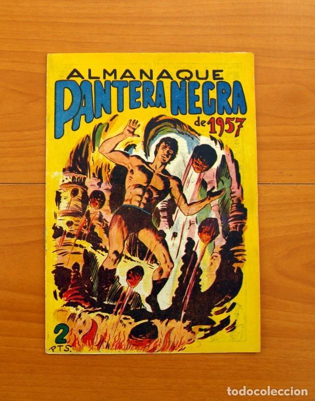 Tebeos: Pantera Negra, Pequeño Pantera Negra, y Almanaques - Ver fotos interiores - Editorial Maga 1956 - Foto 26 - 102711199