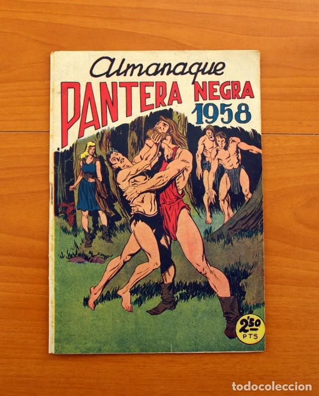 Tebeos: Pantera Negra, Pequeño Pantera Negra, y Almanaques - Ver fotos interiores - Editorial Maga 1956 - Foto 31 - 102711199