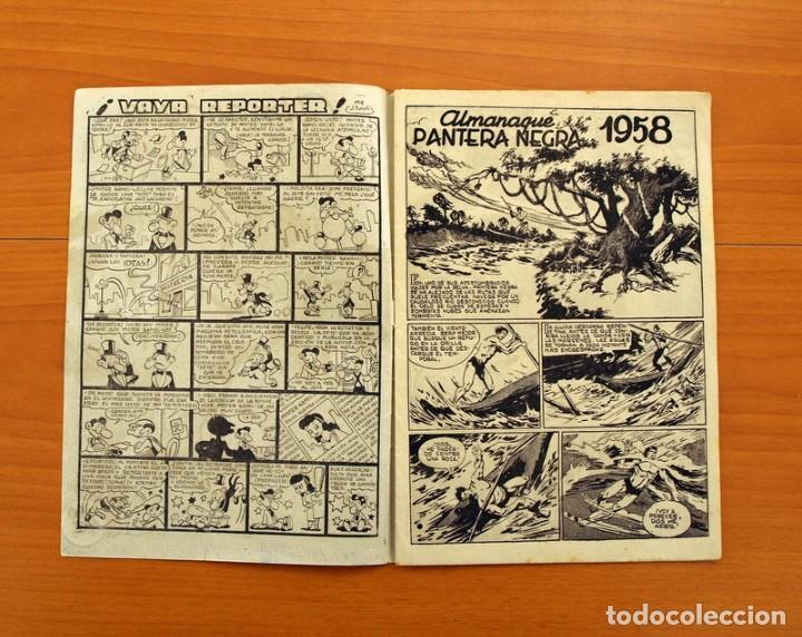 Tebeos: Pantera Negra, Pequeño Pantera Negra, y Almanaques - Ver fotos interiores - Editorial Maga 1956 - Foto 32 - 102711199