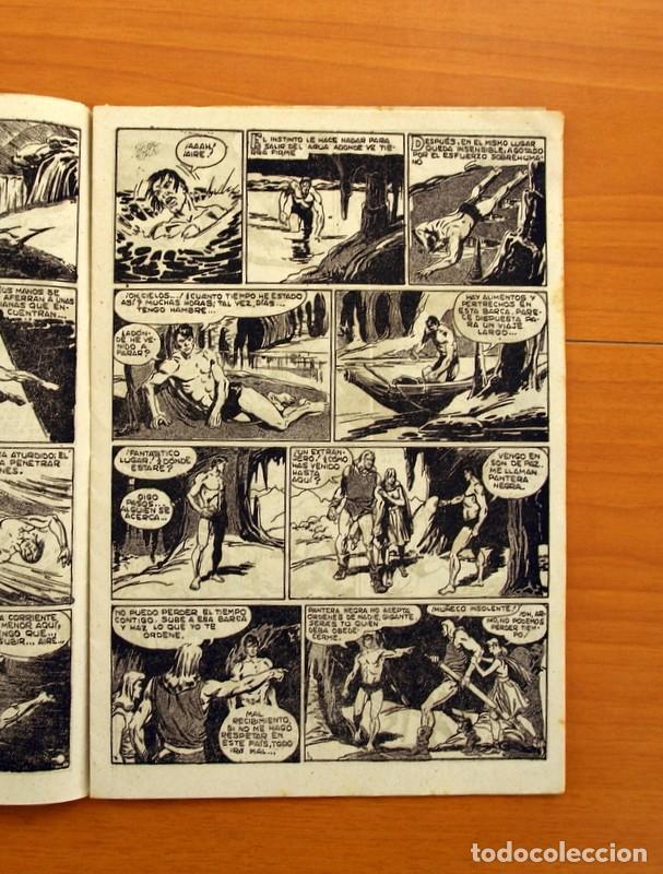 Tebeos: Pantera Negra, Pequeño Pantera Negra, y Almanaques - Ver fotos interiores - Editorial Maga 1956 - Foto 33 - 102711199