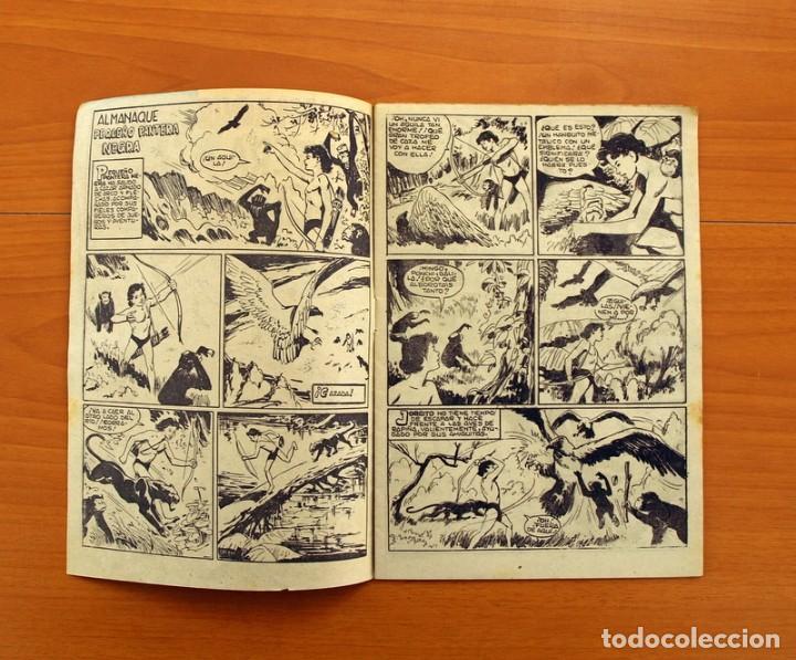 Tebeos: Pantera Negra, Pequeño Pantera Negra, y Almanaques - Ver fotos interiores - Editorial Maga 1956 - Foto 37 - 102711199
