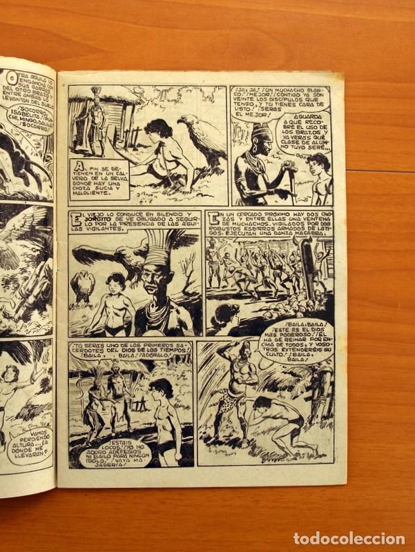 Tebeos: Pantera Negra, Pequeño Pantera Negra, y Almanaques - Ver fotos interiores - Editorial Maga 1956 - Foto 38 - 102711199
